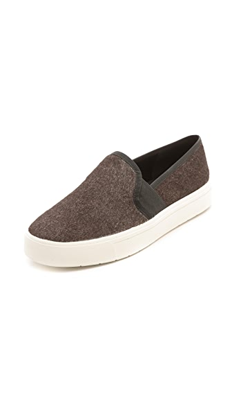 Vince Berlin Slip On Haircalf Sneakers