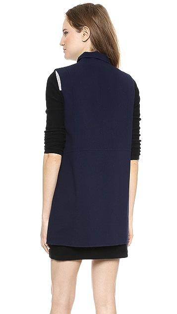 Vince Asymmetrical Vest