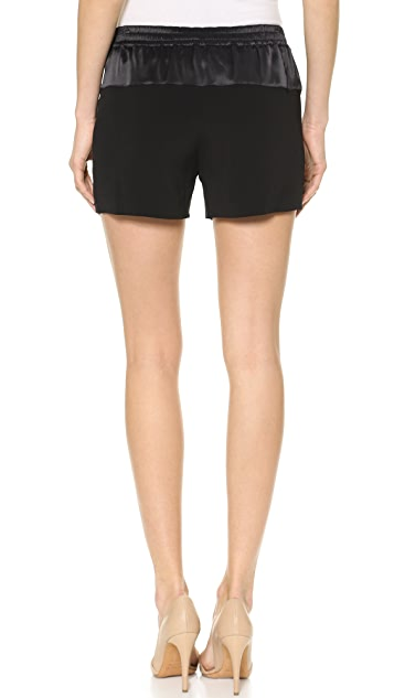 Vince Drop Yoke Jogging Shorts