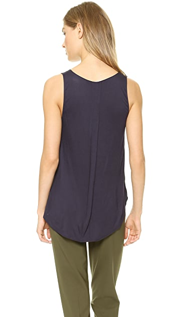 Vince Shirttail Tank