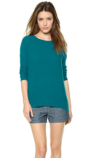 Vince Square Cashmere Sweater