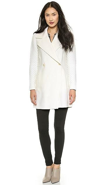 Vince Sweater Sleeve Coat