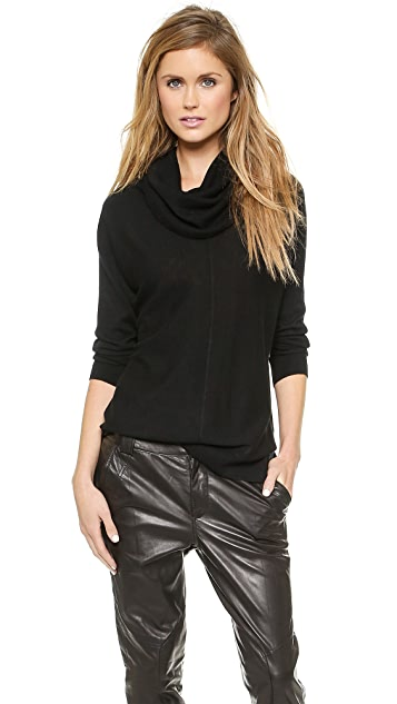 Vince Seamed Turtleneck Sweater