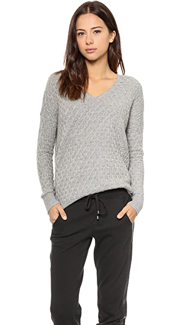 Vince Brick Texture Sweater