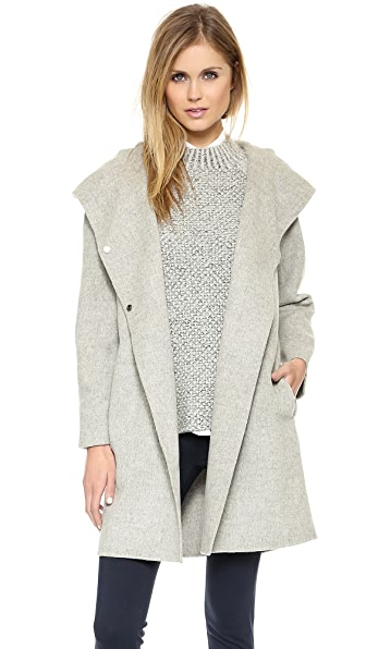 Vince Hooded Coat