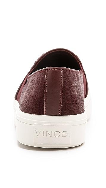 Vince Berlin Haircalf Slip On Sneakers