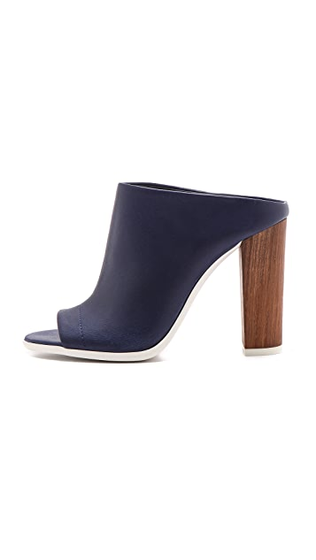 Vince Allison Open Toe Mules