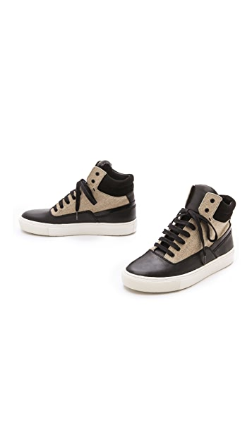 Vince Newman High Top Sneakers