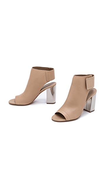 Vince Faye Open Toe Booties