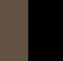 Black/Rattan