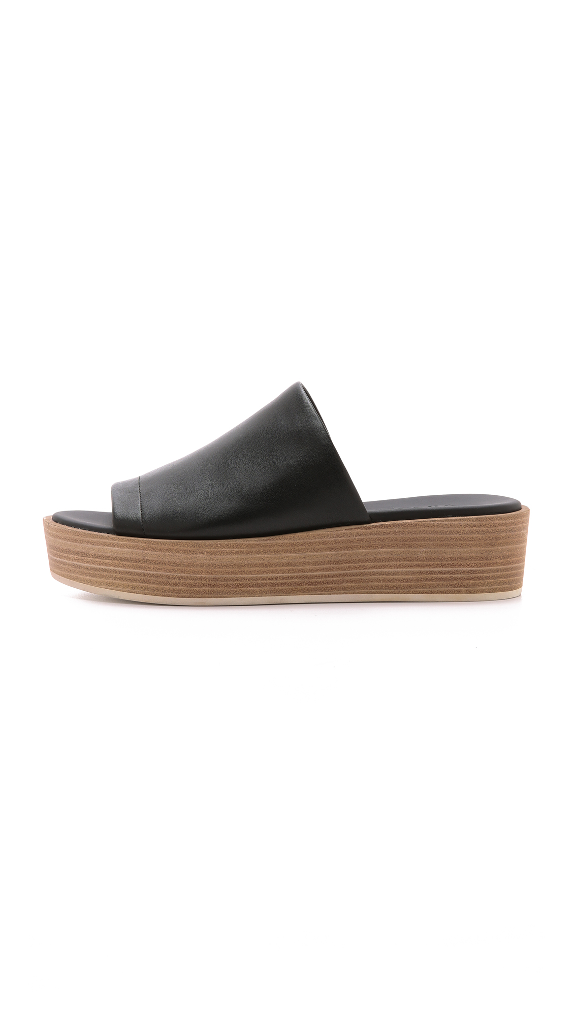 22798f61d81 Vince Saskia Flatform Slides