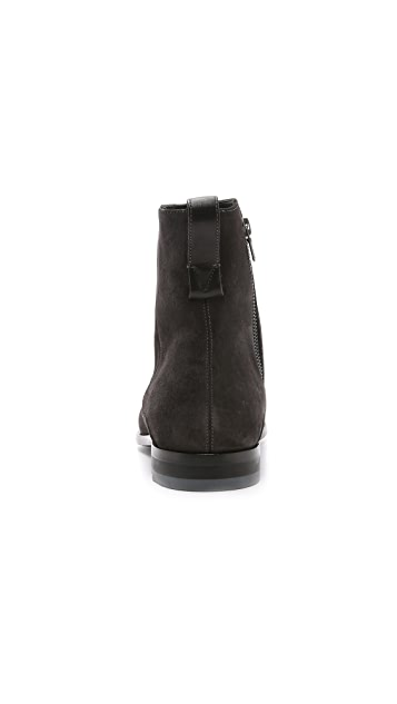 Vince Andes Suede Chelsea Boots