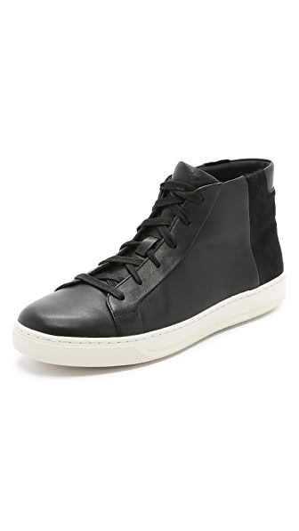 Vince Atlas Haircalf High Top Sneakers