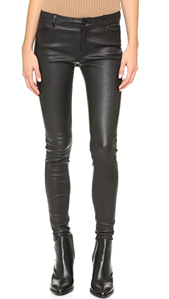 Vince 5 Pocket Leather Pants