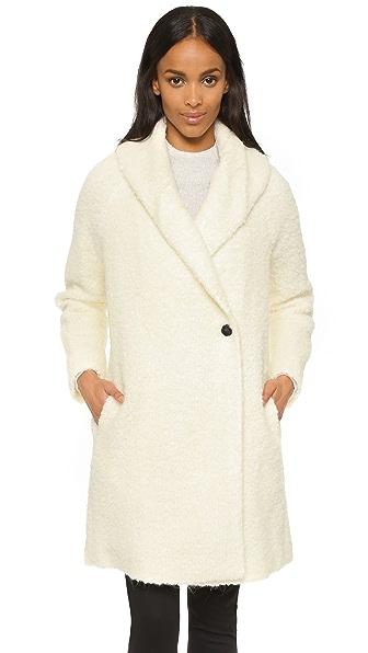 Vince Fuzzy Knit Coat