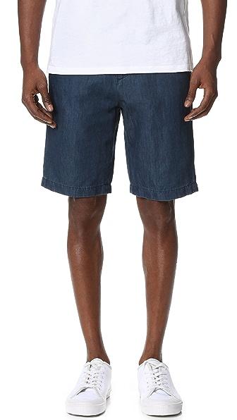 Vince Indigo Shorts