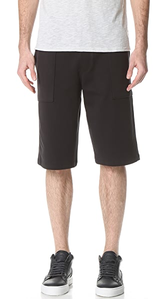 Vince Garment Wash Pull On Shorts