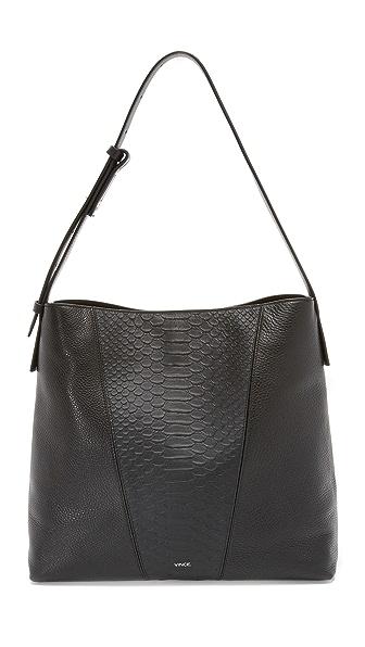Vince Medium Hobo Bag