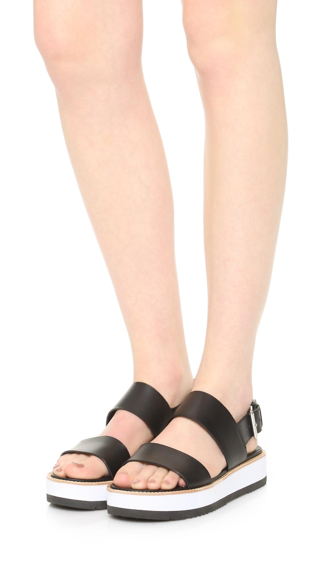 4a5f3f47051 Vince Mana Flatform Sandals