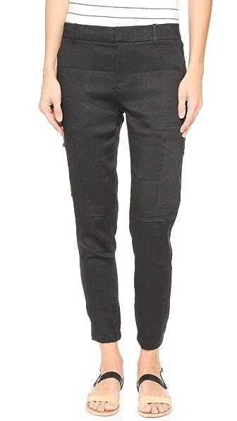 Vince Linen Cargo Pants Shopbop