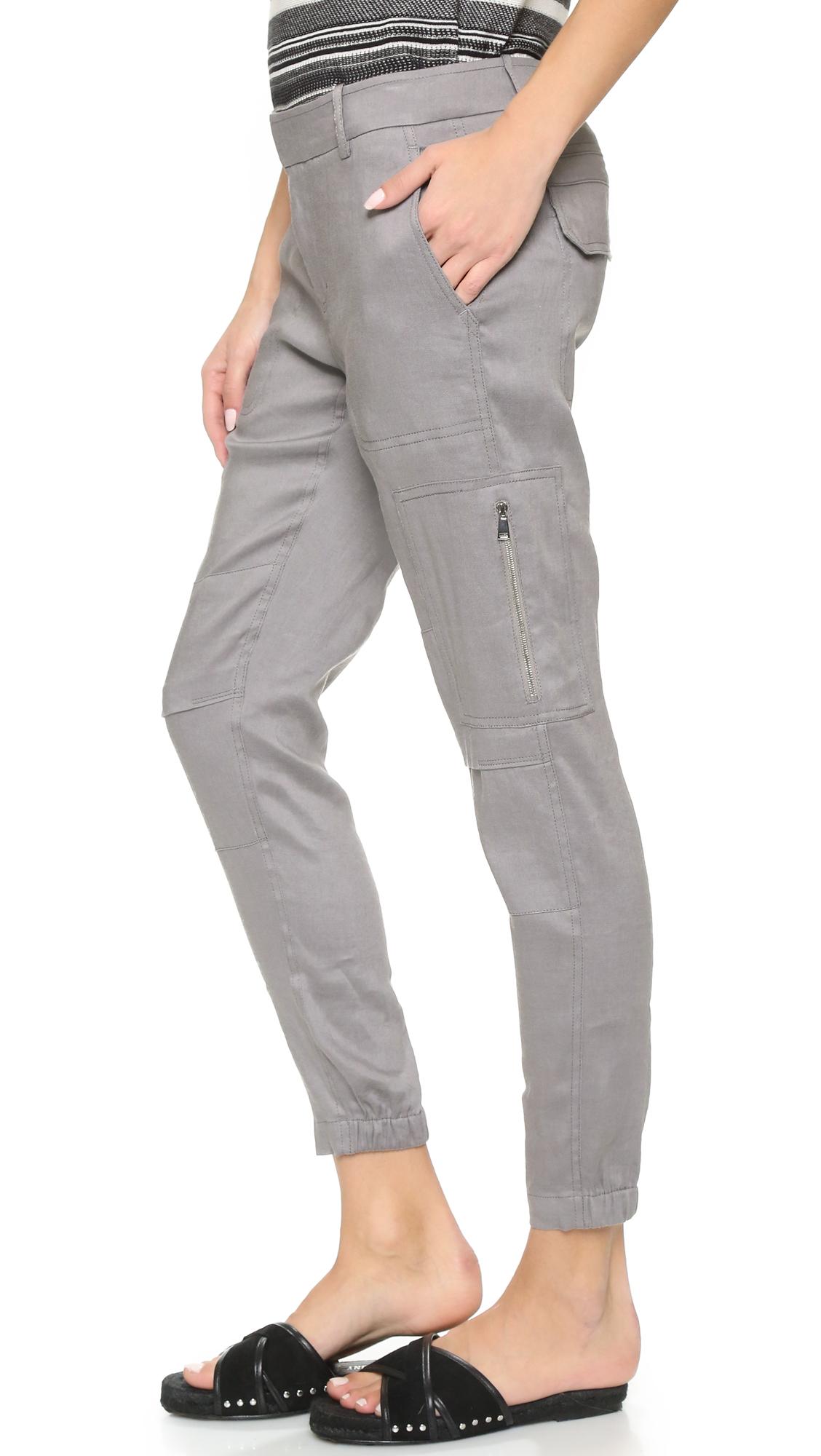c9f0b071a7 Vince Linen Cargo Pants