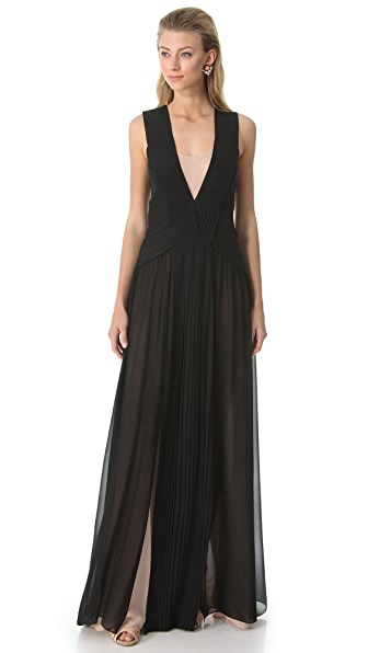 Vionnet Sleeveless Gown