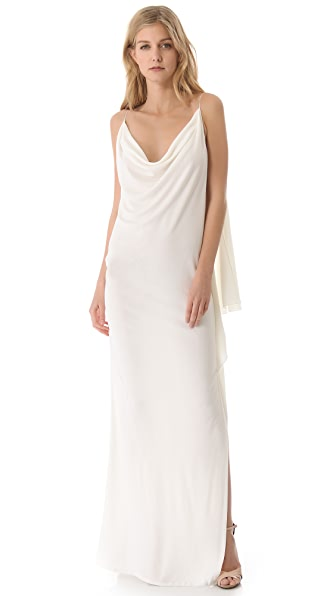 Vionnet Sleeveless Jersey Dress
