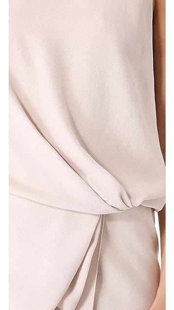 Vionnet Sleeveless Blouson Dress
