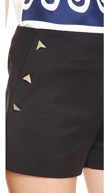 Vionnet Cotton Shorts