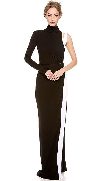 Vionnet Long Sleeve Gown