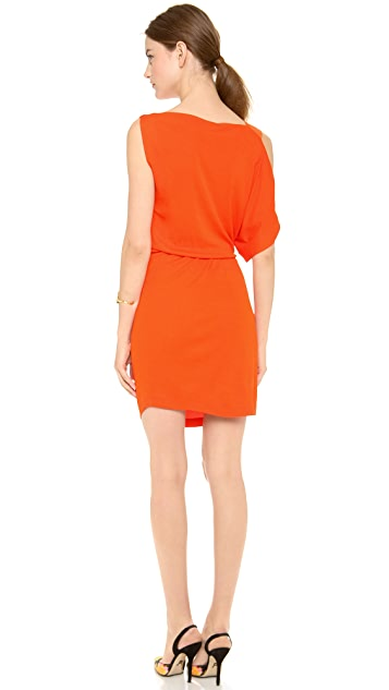 Vionnet One Shoulder Dress