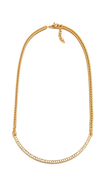 Vita Fede Half Moon Necklace