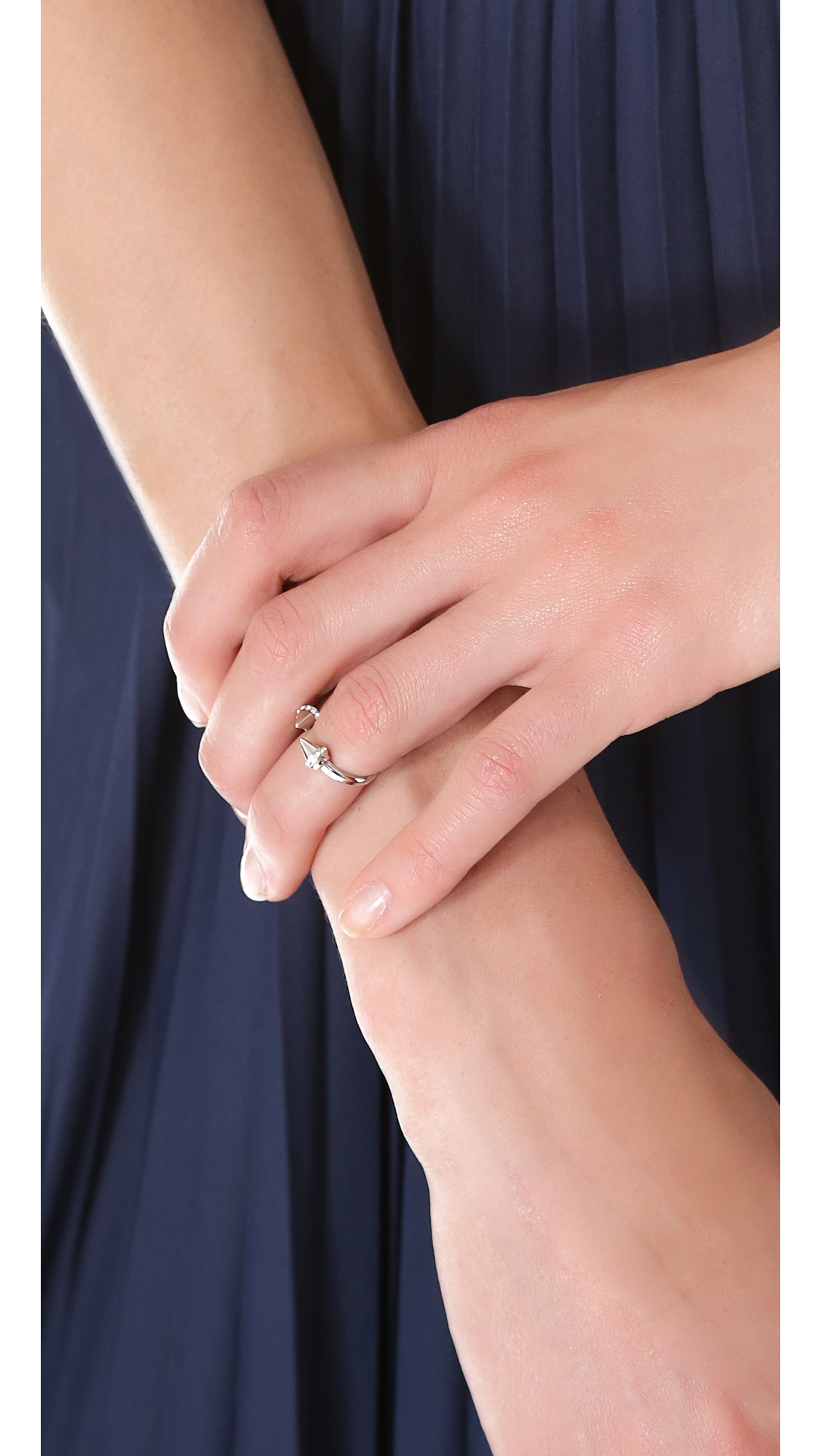Vita Fede Mini Titan Crystal Ring lDK1ZIZs