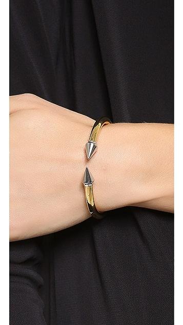 Vita Fede Mini Titan Two Tone Bracelet