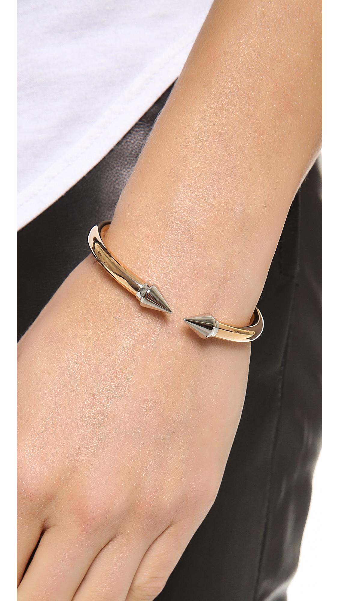 Vita Fede Mini Titan Two Tone Bracelet | SHOPBOP