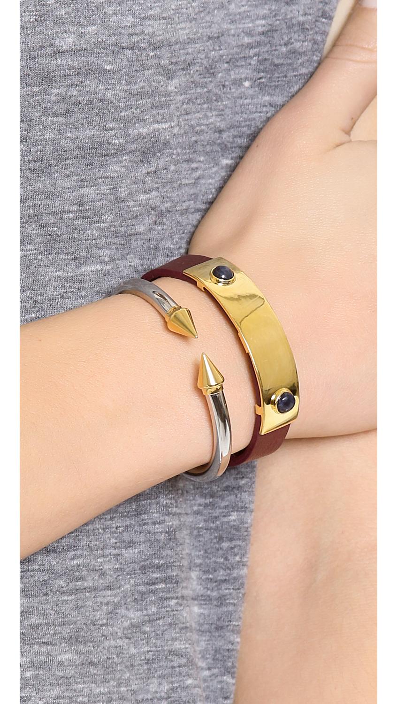 Vita Fede Mini Titan Two Tone Bracelet in Rose i60N1N8a7