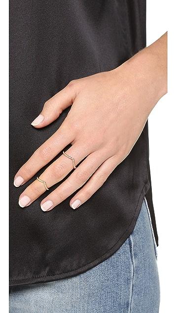 Vita Fede Mini Crystal V Ring