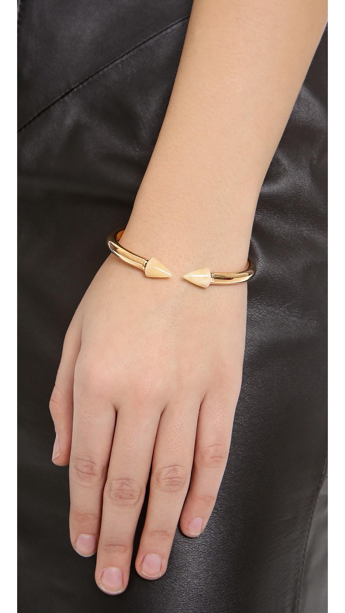 Vita Fede Mini Titan Crystal Cuff Bracelet MwopAe