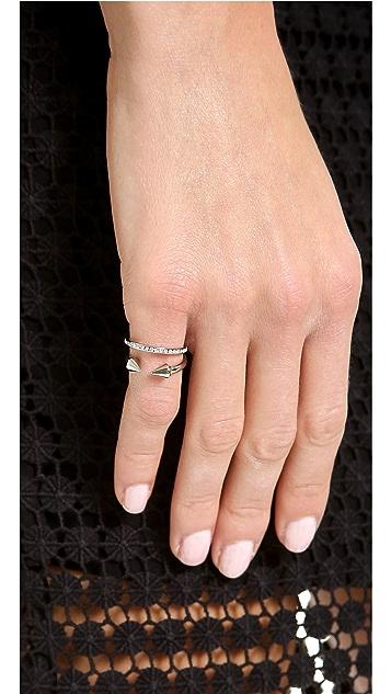 Vita Fede Ultra Mini Titan Crystal Band Ring