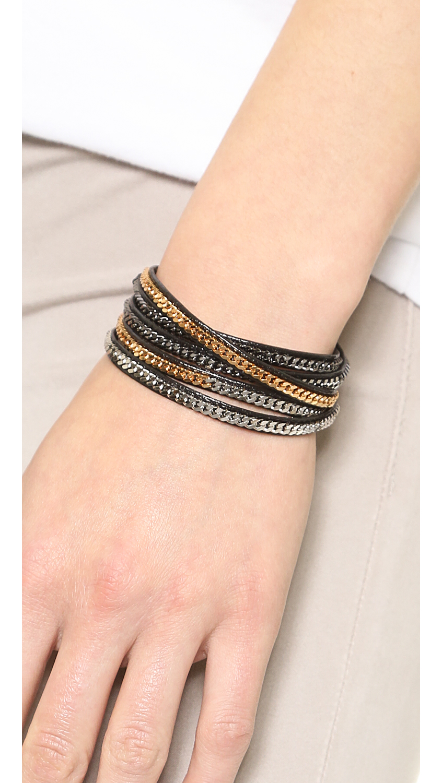Vita Fede Capri 5 Wrap Bracelet O6Qg1t