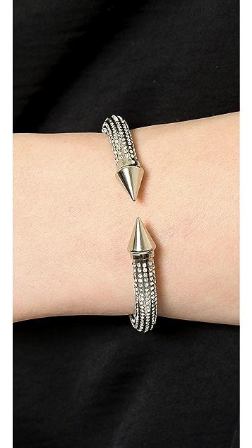 Vita Fede Mini Titan All Over Crystal Bracelet