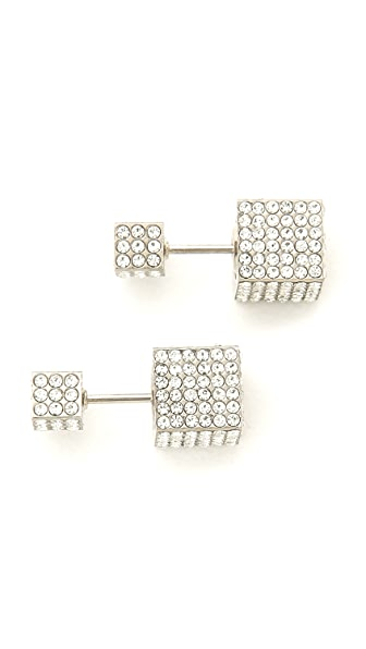 Vita Fede Double Cubo Earrings