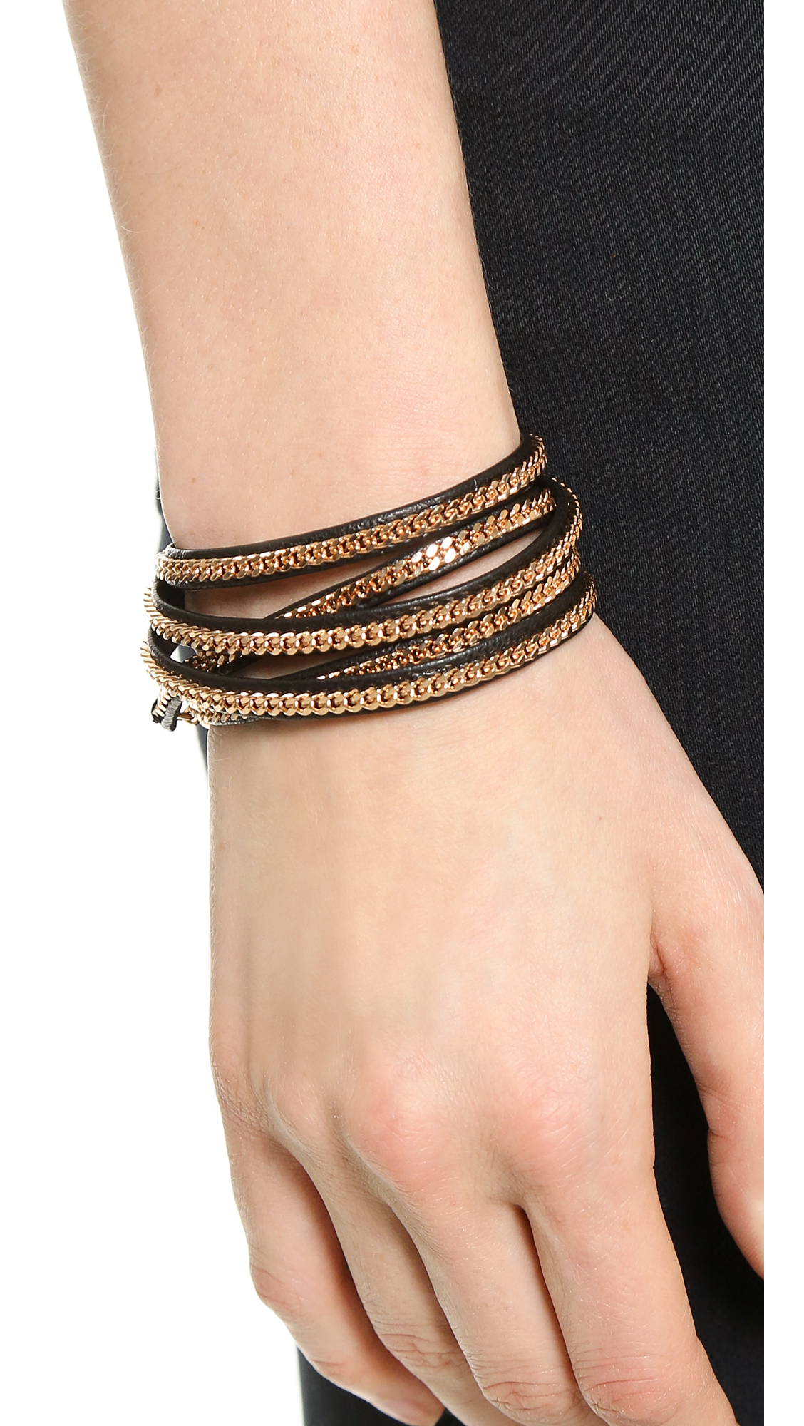 bracelet braceletfront flexh york barneys cord wrap pdp new beads m cohen product knotted on bracelets