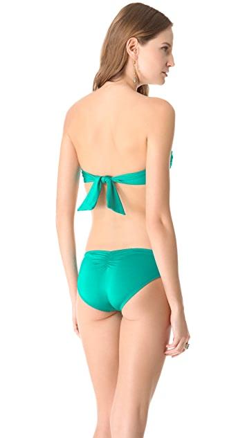 Vitamin A Bel Air Bandeau Bikini Top