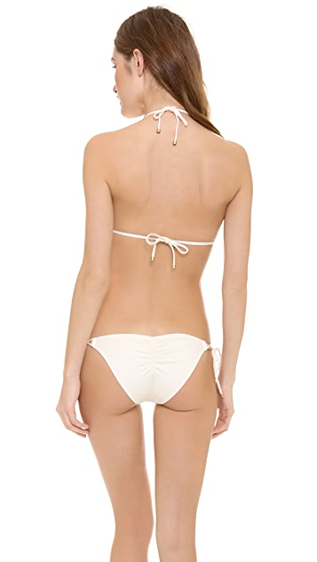 Vitamin A Gwyneth Deluxe Triangle Bikini Top