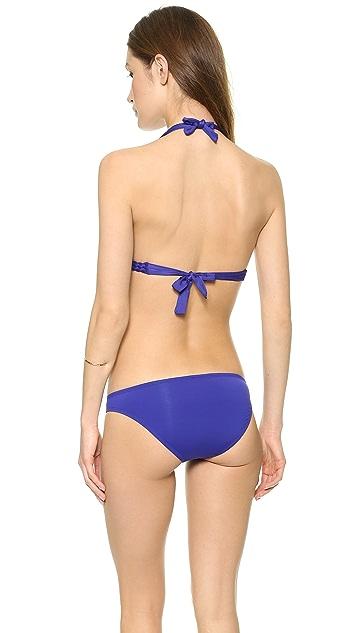Vitamin A Chloe Braid Halter Swim Top