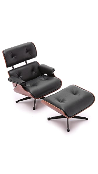 Vitra Eames Lounge Chair & Ottoman Miniature