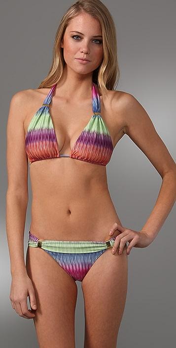 ViX Swimwear France Logo Bikini Top