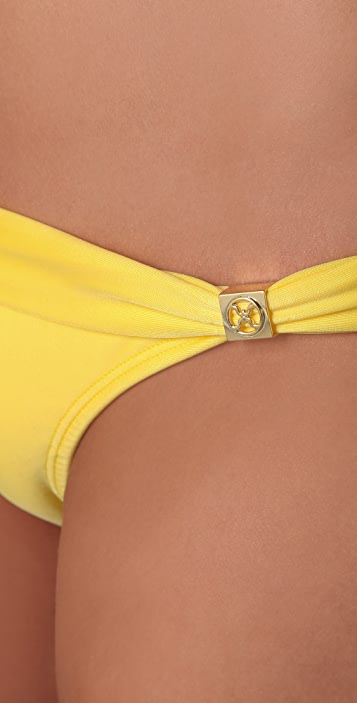 ViX Swimwear Bia Logo Bikini Bottoms