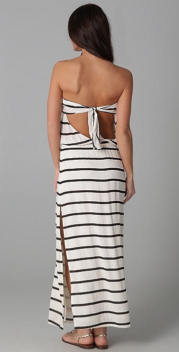 ViX Swimwear Odette Bandeau Long Dress